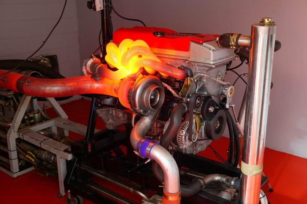 تست موتور و توربوشارژر